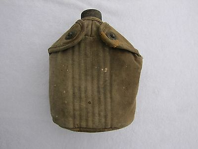 WWII US AGM Canteen w 1943 Cover