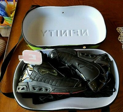 Nfinity Bioniq Black Basketball Shoes w/Protective Bag & Case, Women's 6, NWT