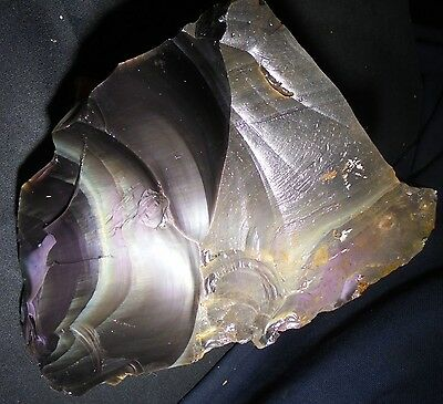 Rainbow Obsidian Spall Shard Flintknapping Lapidary Rough Stone S659 ... 11 LBS