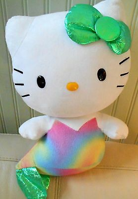 TY Beanie Babies HELLO KITTY MERMAID Large Plush Stuffed Toy 13'' 2013