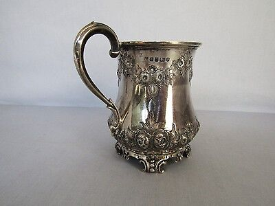 Antique English Sterling Silver Cup