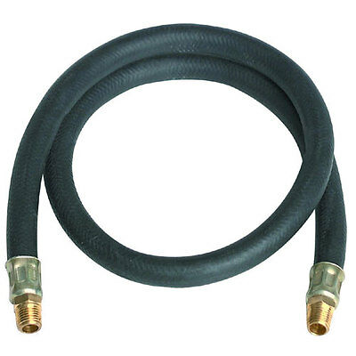 "NEW 3 ft. x 3/8"" Air Hose Lead with 1/4""-18 NPT"