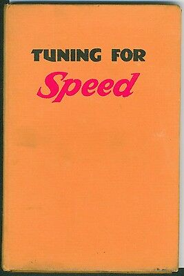 Tuning for Speed Phil Irving 1952 Norton BSA Triumph Motorcycle Book Manual