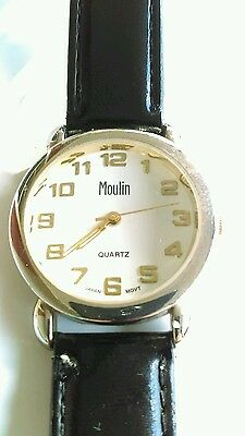 WATCH Men's Stainless Steel Back JAPAN MOVT MOULIN