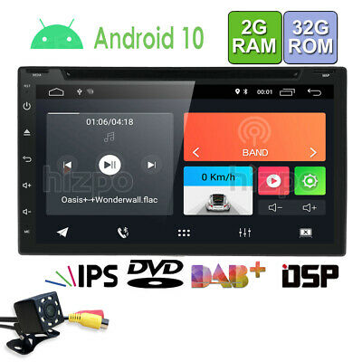"Android 5.1 7"" 2Din InDash Car DVD Radio Stereo Player WiFi 4G GPS Tablet Camera"