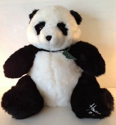 Vintage Rare Harrods Dated Annual 1993 Plush Panda Teddy Bear Free Shipping!