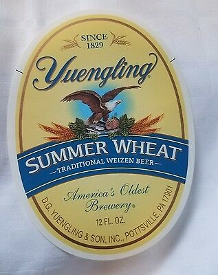 """Yuengling """"America's Oldest Brewery"""" Summer Wheat Beer 12 fl oz Bottle Label NEW"""
