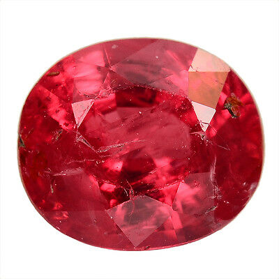 0.81 Ct. Top Quality Unheated Red Ruby Gemstone With Glc Certify