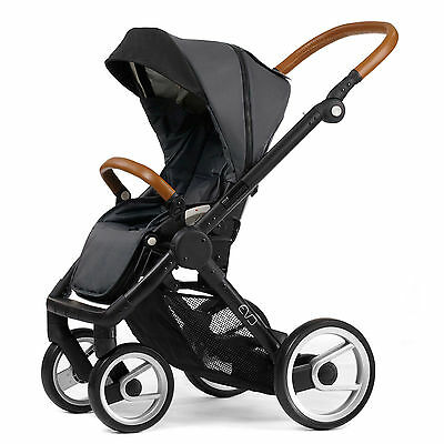 Mutsy Evo Urban Nomad Stroller -  Dark Grey  with Black Chassis