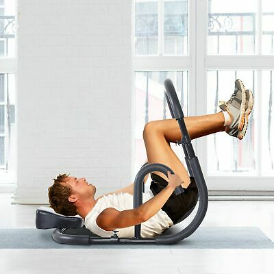 Soozier Abdominal Abs Crunch Equipment Fitness Roller Machine Trainer Exercise