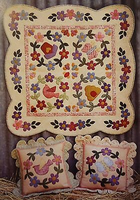 Quilt Pattern - SPRING BLOSSOMS - by Kookaburra Cottage - 2 projects