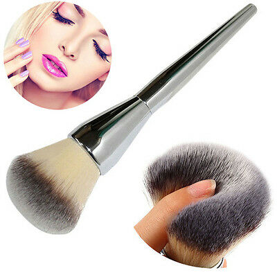 Makeup Cosmetic Powder Foundation Brush Contour Face Big Blush Brush Goat Hair A