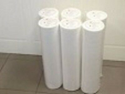 6 Rolls Disposable Massage table Beauty Bed Cover Perforated Roll Bed Sheet +