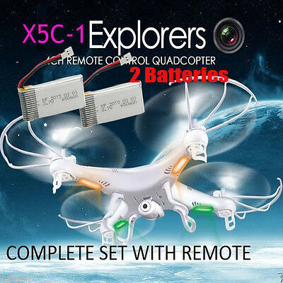 X5C X5C-1 2.4G 4CH RC Explorers Quadcopter 6 Axis Heli Drone with HD Camera UK