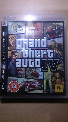 grand theft auto iv sony playstation 3 2008 dvd box ps. Black Bedroom Furniture Sets. Home Design Ideas