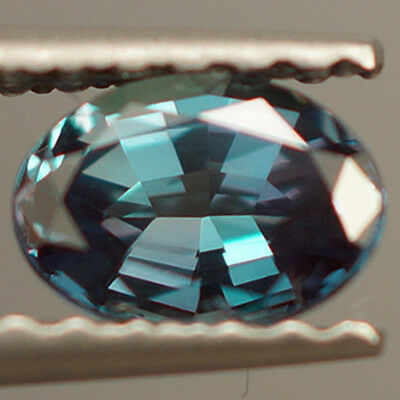 AIGS CERTIFIED 0.45 ct ONE OF A KIND! DARK BLUISH GREEN ALEXANDRITE COLOR CHANGE