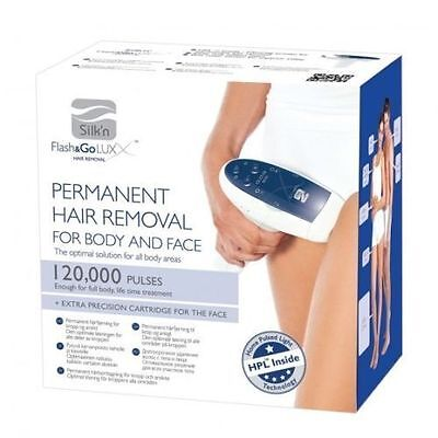 CANADA LOCA  Flash & Go Luxx - Body Hair Removal 120,000 Pulses - Free Shipping