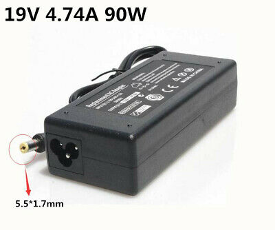 19V 4.74A 90W AC Power Supply Adapter Charger For Acer Laptop Computer