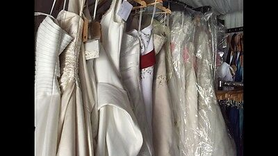 Job lot of wedding dresses- business opportunity! HUGE PROFITS to be made!