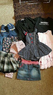 JOB LOT 9 X Girl's Clothing Age 2-3 Years  By  Next,f&f,H&M,George