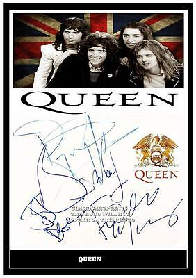 4. Queen Freddie Mercury  Signed   Photograph #