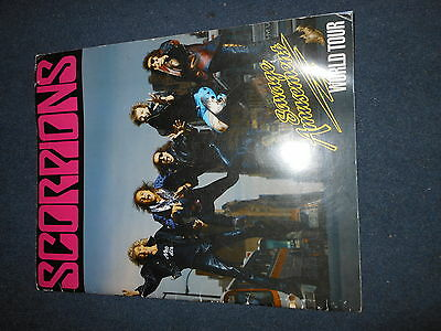 Scorpions Savage Amusement World Tour Book Programme