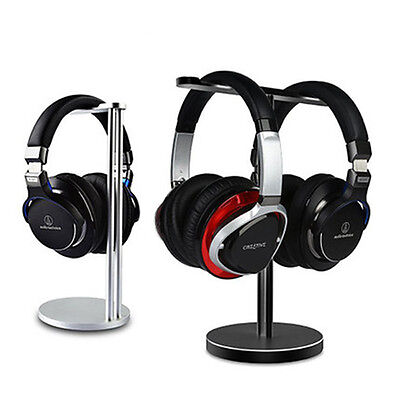 Metal Alloy Gaming Headphone Headsets Desk Display Rack Stand Hanger Holder