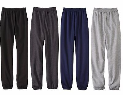 NWT Fruit Of The Loom Fleece Elastic Sweat Pant Mens Various Sizes and Colors