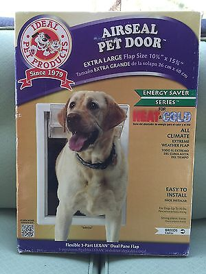 New Ideal Pet Products Air Seal Pet Door With Telescoping Frame Extra Large Xl