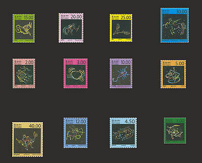 Sri Lanka  small stamps belong to the Zodiac Constellations series (CEYLON)