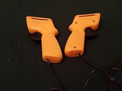 2 Vintage Aurora Afx  Yellow Slot Car Racing Speed Controllers See Pics