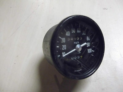 Jaeger 8cm 100 mph speedometer..for 4 cyl cars .1000+Citroen parts in SHOP