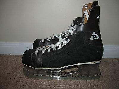 Vintage Daoust Pacer Clear Tuuk Ice Hockey Skates-Size 11