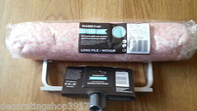 "Hamilton Perfection 9""-15"" Adjustable Paint Roller Frame & 12/15"" Long Sleeve"