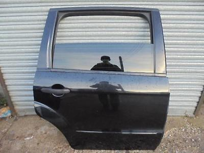 Ford Galaxy O/s Drivers Right Rear Back Complete Door Black 2006-2015
