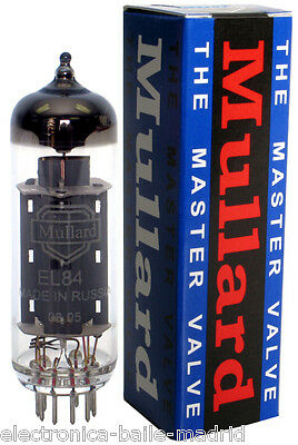 Reissue Mullard El84 -6Bq5 Matched Pair Vacuum Tube Tested - Apex Matching