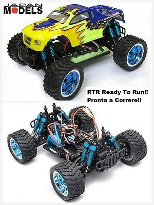 Rk Radiokontrol Hsp Electric Micro Truck KIDKING BRUSHLESS RTR 4WD 1/16 Rc New