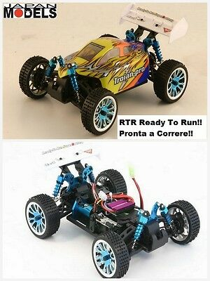 Rk Radiokontrol Hsp Electric Micro Buggy TROIAN PRO BRUSHLESS RTR 4WD 1/16 Rc