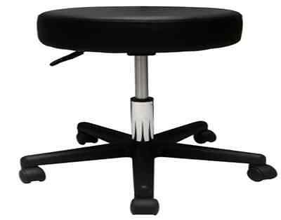 Pneumatic Stool - NO Seat Back, Black