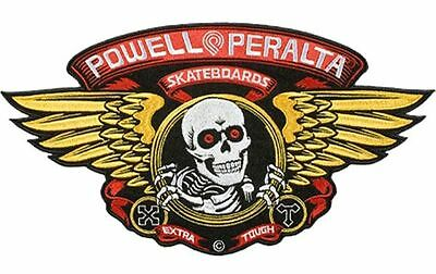 Powell Peralta WINGED RIPPER Skateboard Patch *HUGE*