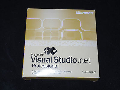 Microsoft Visual Studio.Net 2003 Professional