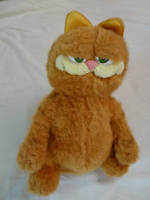 """Garfield Plush Toy Size Approx; 14"""" Tall Brand New Never Been Played With"""