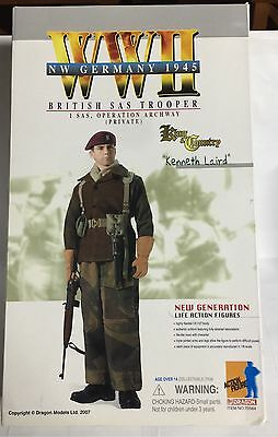Drago Action Figure NW Germany 1945 British SAS Trooper Kenneth Laird Scale 1/6