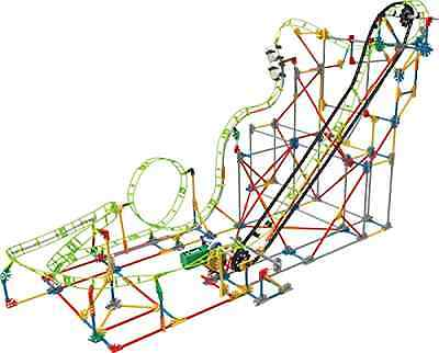 Double Doom Roller Coaster Building Set 891 Pieces Engineer Educational Toy, New