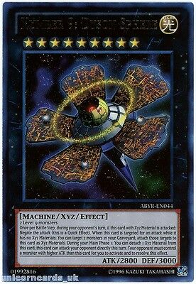 ABYR-EN044 Number 9: Dyson Sphere Ultra Rare UNL Edition Mint YuGiOh Card