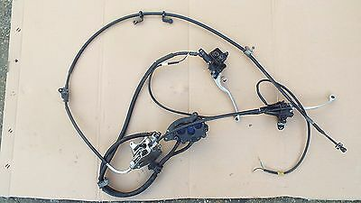 honda pcx complete brake front rear combi cable master cyl. caliper pads levers