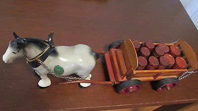 Melba Wear Pottery Horse With Carriage