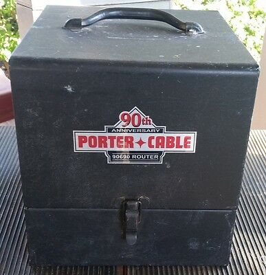 """Porter Cable 90Th Anniversary Router 90690 / """" Case Only"""""""