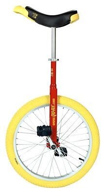 QU-AX Unicycle 20 luxus red 1101 w aluminum rim
