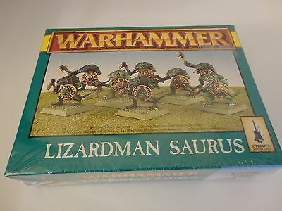 Lizardman Saurus Warriors Warhammer Fantasy New & Sealed 1996